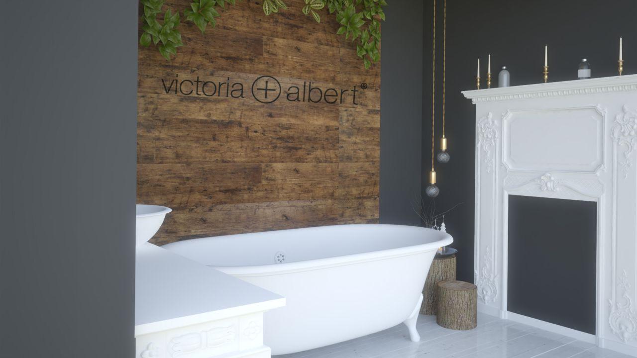 Amenajare interioara stand V&A Baths- Milano